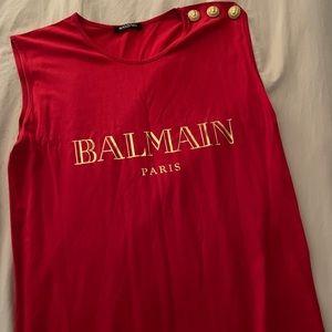 Balmain red top
